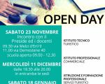 Gli open day A.S. 2019/2020